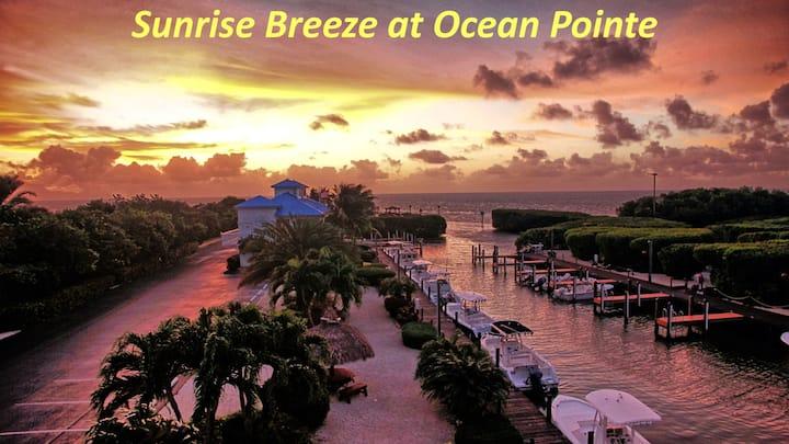 Marina/Ocean view 2 bedroom condo at Ocean Pointe