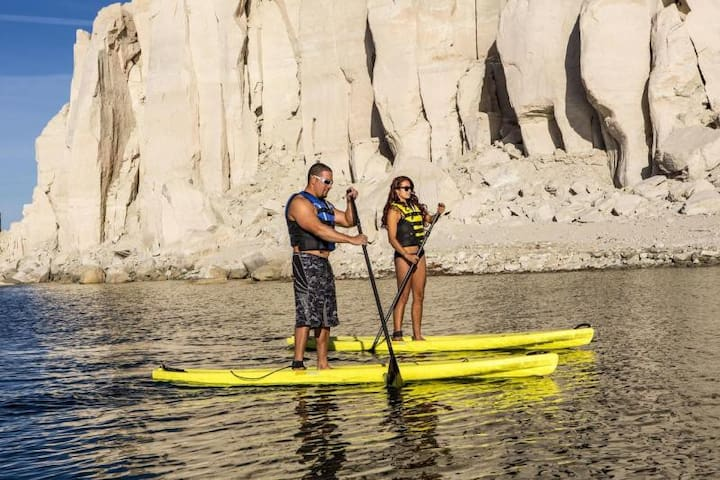 Many water activities are available everywhere around you!