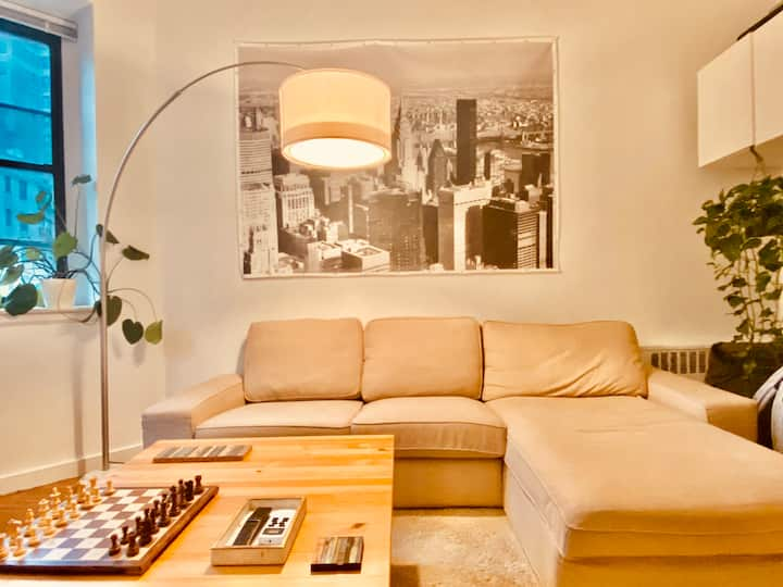 Central Park  1 Bedroom Loft With Private Terrace