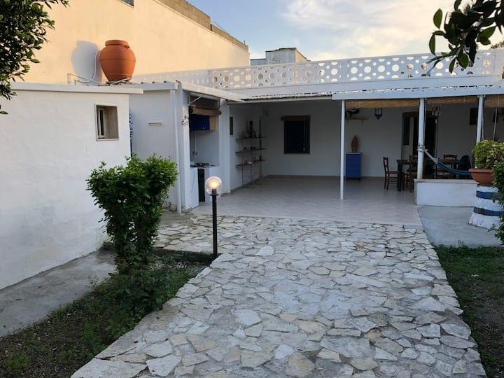 villa 6 posti in salento 250 m mare