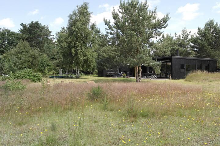 2 huse i ét, Mols - unik arkitektur/natur, 8 pers - Knebel - Houten huisje