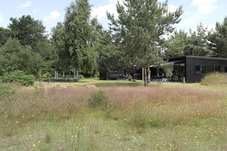 2 huse i ét, Mols - unik arkitektur/natur, 8 pers - Knebel