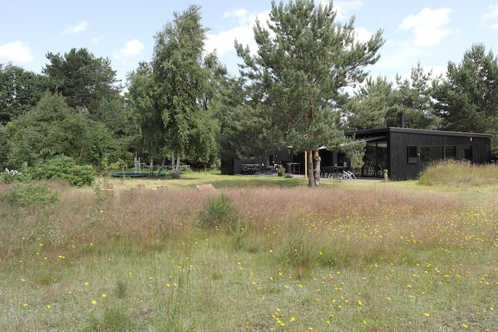 2 huse i ét, Mols - unik arkitektur/natur, 8 pers