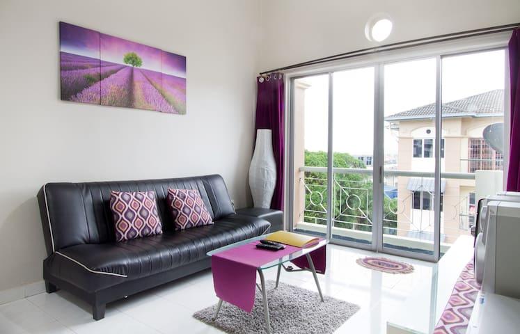 [HOS2]JOHOR BAHRU COMFY,PRIVACY -place2relax - Skudai - Apartamento