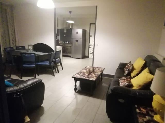 Appartement meublé et équipé pour 6 personnes