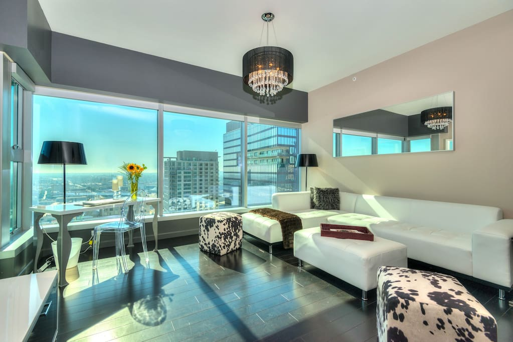Awesome downtown la 1 bedroom views pool apartments - Cheap one bedroom apartments in california ...