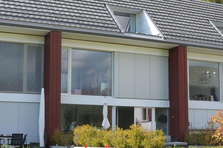 Lumineuse villa mitoyenne à Lausanne - ローザンヌ - 一軒家