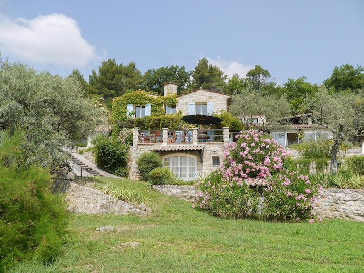 L'Olivette - Mas Provencal, Panoramic View & Pool