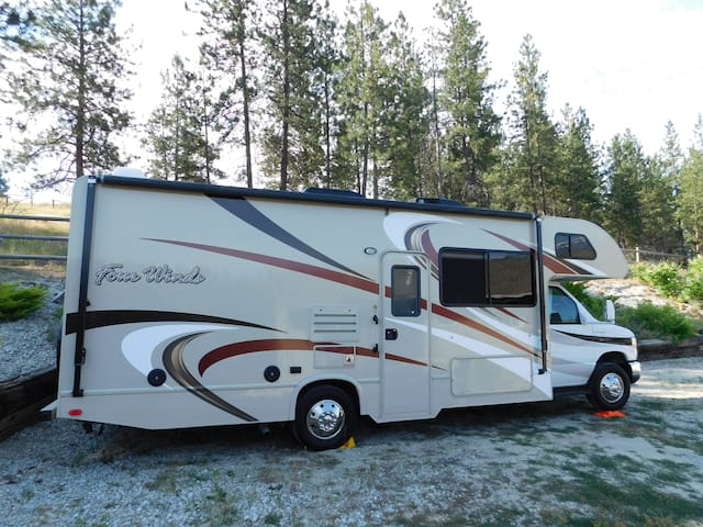 RV to be set up at your Location of Choice!