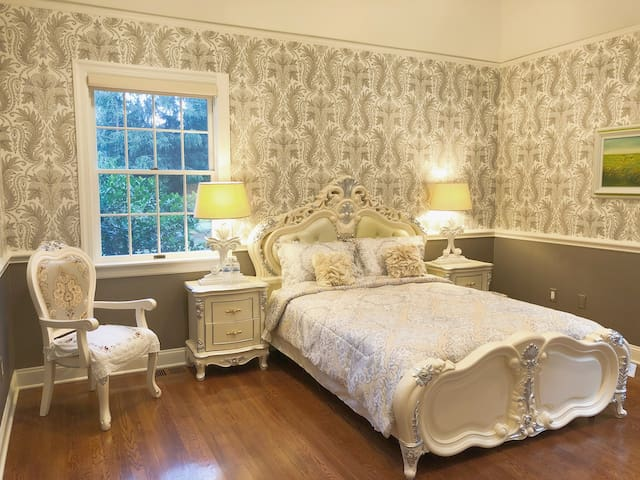 Enjoy a good sleep at our spacious corner suite