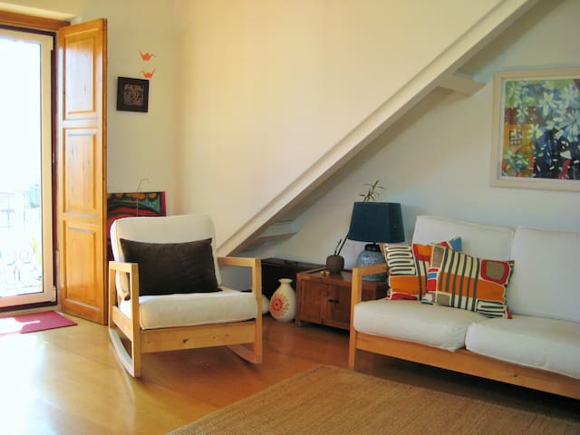 Cosy loft + View + Lisbon's light - Lisboa - Квартира