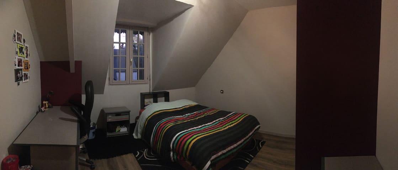 Chambre privee dans maison familiale -Etrelles