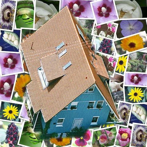 Ferienwohnung Füxle im Bio Holzhaus - Herbolzheim - Apartament