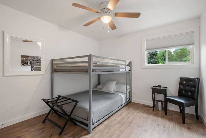 Third Bedroom w/Two Full Beds