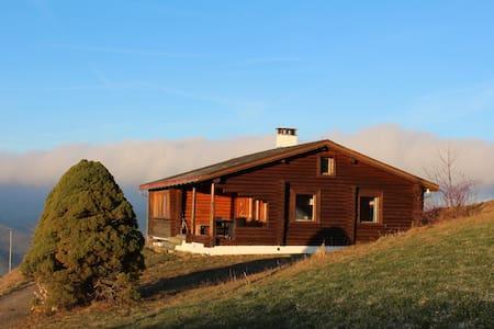 Blockhütte oberhalb Ebnat-Kappel