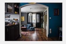 View toward living room