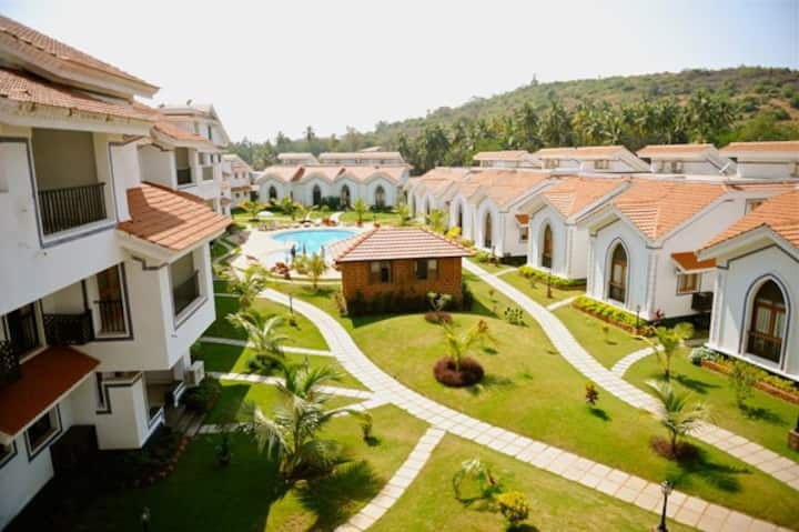 1 BHK Apartment Calangute-Baga-Anjuna Rd. Goa (GF)