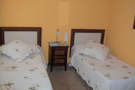 Habitación Hotel c/baño Delta Ebro - Santa Bàrbara - Rumah