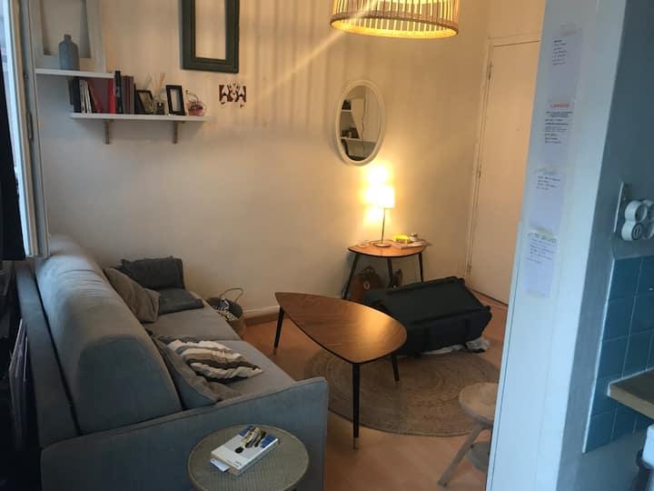 Charmant studio parisien au coeur du 11 - Charonne