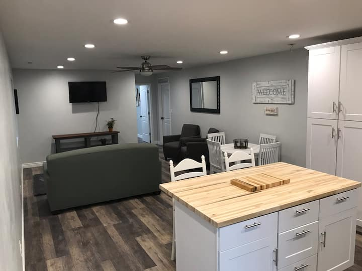 Private Basement Oasis