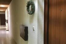 Apartment door
