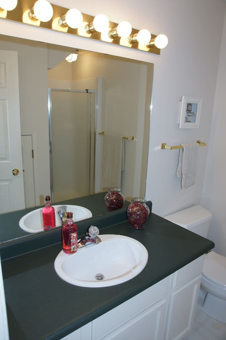 Very clean Bathrooms with Excellent shower