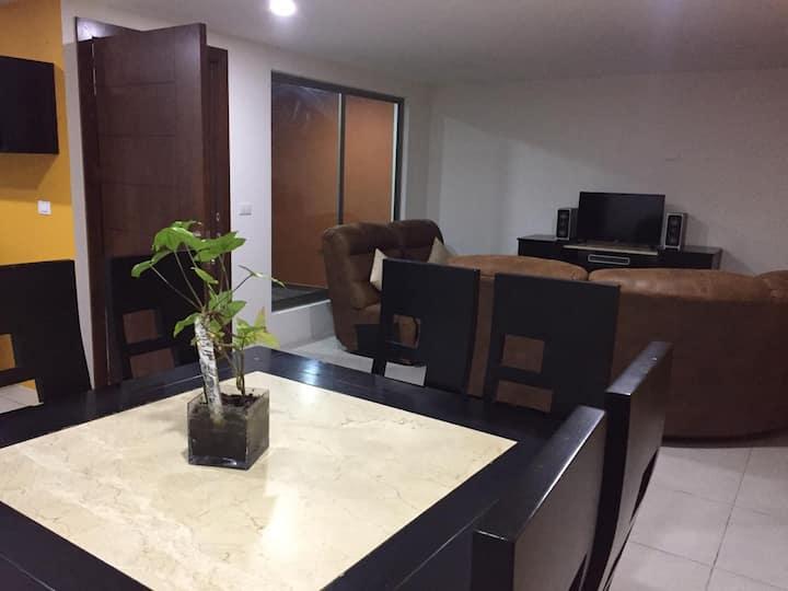 Confortable casa de descanso entrando a Pachuca