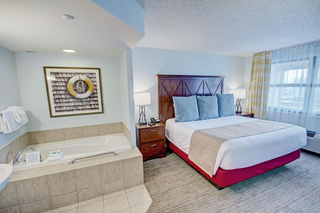 Master Bedroom and Soaking Tub