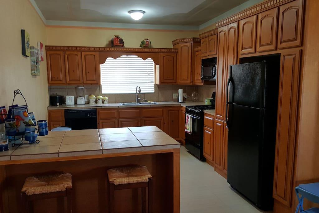 Big Full Kitchen