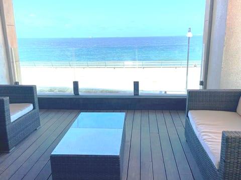 Terrace luxe beachview panoramic 2 bedrooms Marina