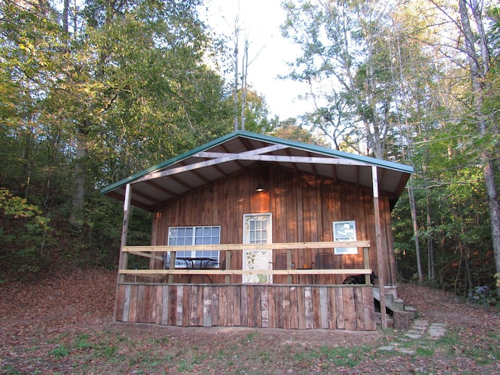 Woodland cabin near Athens and Hocking Hills
