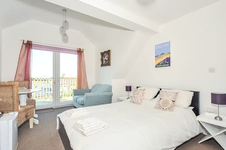 Double room sea view with balcony - Croyde
