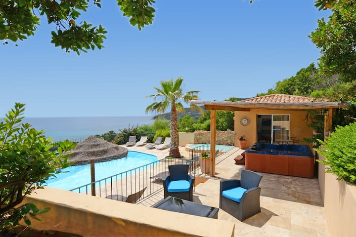 Location 5***** 4/5 pers. vue mer exceptionnelle