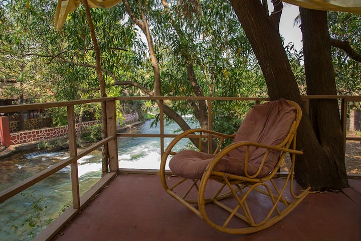 Santoni Farms, Scenic 3BHK River-side Villa,Karjat
