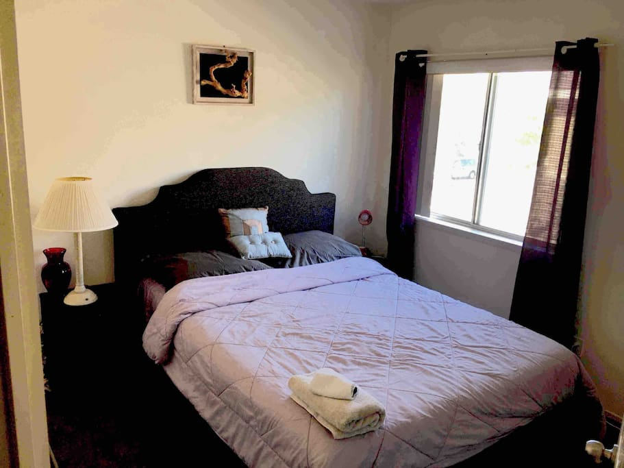 Private room with 35 inch smart TV with Netflix available