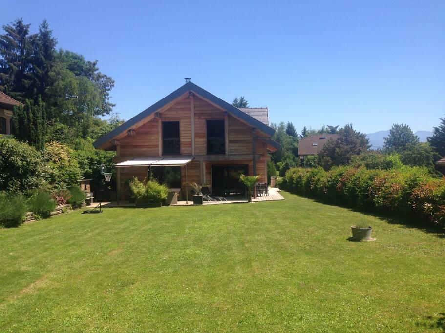 Maison 15 minutes du lac d 39 annecy maisons louer for Annecy maison a louer