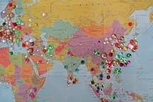 Guests from all over the world have enjoyed the house.