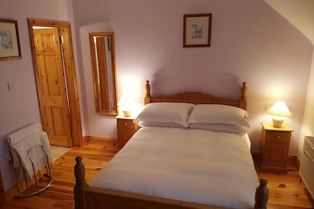 A comfortable private double room with ensuite