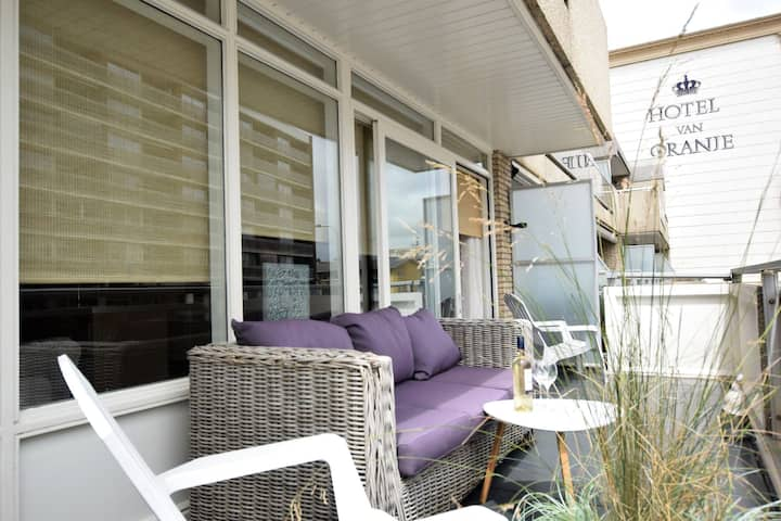 Quaint Apartment in Noordwijk near Beach