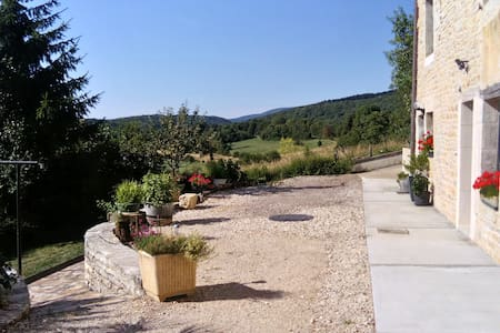 Gite à la campagne 2 pers, terrasse couverte