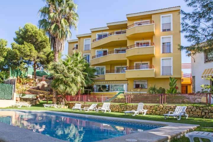 Benidorm apartment all included