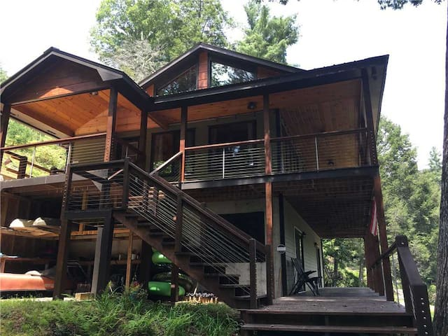 Aska Base Camp Cabin and the acclaimed Toccoa River will transport you to another place!