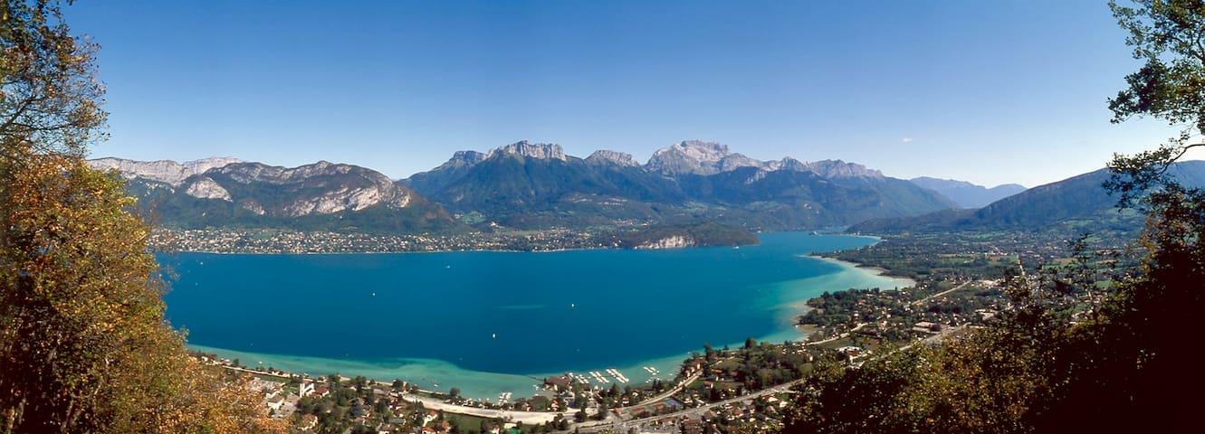 Appartement agréable entre 2 lacs - Héry-sur-Alby
