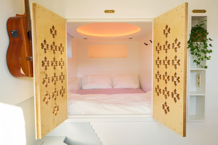 Bed-cupboard 2