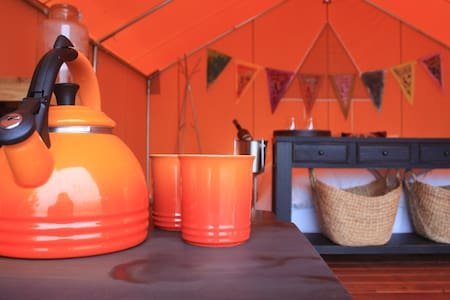 Chanslor Ranch Turkey Point Glamping Tent - Bodega Bay - Stan