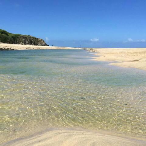 Westpoint, Beautiful Summer/Winter Beach Chalet. - Hayle, Cornwall.  - Chalet