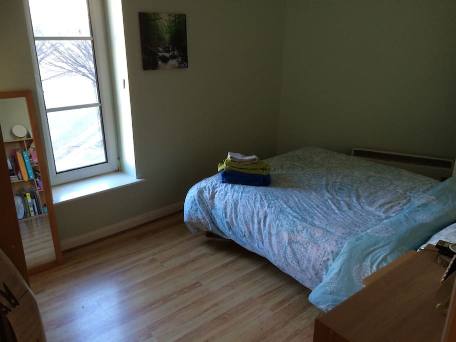 Your spacious room!