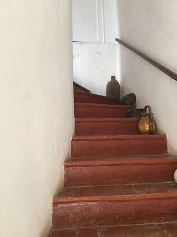 cage d'escalier privée