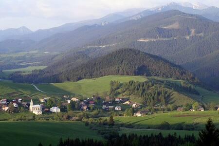 Dom na úpätí krásnej prírody Západných Tatier