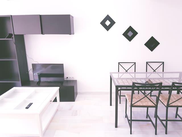Cozy apartment in a center very close to the beach - Málaga - Apartament